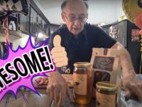 VIDEO. Bunicul care face senzație pe YouTube cu talentele sale. S-a reprofilat în timpul pandemiei