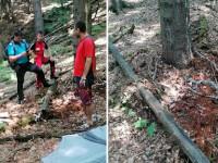 Un tânăr din Dolj s-a legat cu un lanț de copac, dar nu s-a mai putut dezlega. A fost găsit după 3 zile