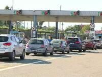 După un weekend petrecut la mare, turiștii au dat năvală pe autostradă. Cozile sunt kilometrice