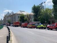 Alertă falsă cu bombă la Curtea de Apel Bucureşti. Se reia traficul în zonă