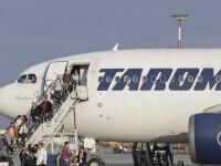 Doi angajați ai companiei TAROM au fost depistați pozitiv cu noul coronavirus