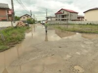 Orașul cu 60.000 de locuitori, la 10 km de București, care devine mlaștină la fiecare ploaie serioasă