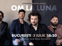 Trupa om la lună își lansează albumul de debut printr-un concert la Teatrul de Vară Eminescu din București