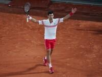 """Djokovic l-a învins pe Rafael Nadar, campionul de la Roland Garros: """"Am jucat cel mai bun tenis al meu"""""""