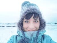 """Femeia care a stat în carantină singură, la Cercul Arctic: """"Decembrie și ianuarie au fost doar cu întuneric"""""""