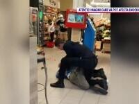 Un sibian l-a amenințat pe agentul de pază al unui magazin, după ce i s-a cerut să poarte mască