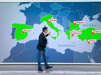 Spania, Grecia, Bulgaria și Italia anunţă că elimină interdicţiile pentru turiştii de la noi