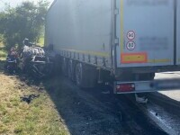 Accident grav în Cluj. Trei persoane au murit, printre care și o fetiță de șase ani