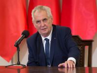 Preşedintele ceh Milos Zeman, internat la terapie intensivă