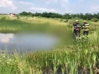 Descoperire macabră în Dâmbovița. Un bărbat a fost găsit înecat într-un lac