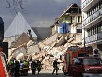 O cladire s-a prabusit in Germania din cauza lucrarilor la metrou