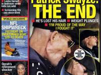 Patrick Swayze, la final de drum: Sunt mandru de cum am luptat