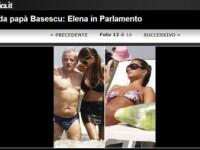 Italienii au confundat-o pe Elena Basescu cu Monica Columbeanu!