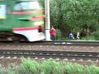 Panica langa Tel Aviv! Un tren a luat foc pe calea ferata