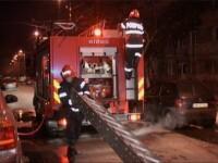 Explozie, urmata de incendiu intr-un bloc din Pitesti!