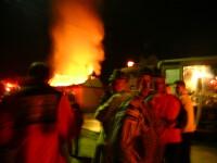 Soc si panica: incendiu la spitalul de boli psihice din Calinesti!