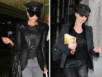 Cine imita pe cine? Si de ce? Victoria Beckham vs. Catherine Zeta Jones