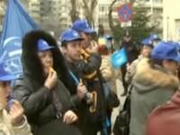 Protest al infirmierelor din cresele sectorului 4 al Capitalei