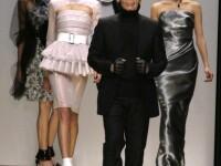 Karl Lagerfeld a facut senzatie la Saptamana modei de la Paris