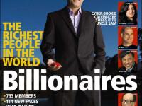 Patriciu, Niculae si Tiriac in topul celor mai bogati oameni ai planetei