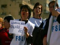 Saptamana Patimilor: 4.000 de profesori sunt in strada la Buzau