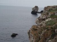 La un pas de a se ineca in Marea Negra din cauza unei manevre gresite