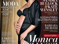 Monica Bellucci, insarcinata si goala pe coperta! Nu e singura! FOTO