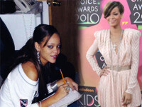 Rihanna scolarita! Era tare cuminte inainte sa ajunga in SUA!