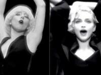 Vreo asemanare? Lady Gaga si Madonna sunt verisoare