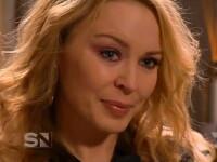 Kylie Minogue, in lacrimi. A plecat in mijlocul unui interviu TV. VIDEO