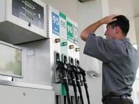 Pretul benzinei a explodat! Un litru se vinde cu 6 lei si 11 bani