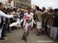 Stare de urgenta in Yemen. Cel putin 40 de persoane ucise, peste 100 raniti