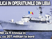 Romania se implica in operatiunile din Libia
