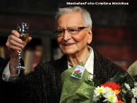 Maestrul Radu Beligan a primit o stea pe Aleea Celebritatilor din Bucuresti