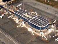 Imagini din elicopter. Terminalul