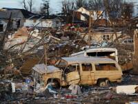 90 de tornade au facut prapad in SUA. Cel putin 36 de morti si pagube materiale uriase. VIDEO
