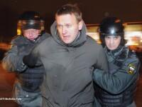 Liderii protestelor anti-Putin din Moscova au fost arestati. 150 de opozanti, ridicati de politie