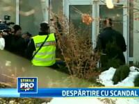 Injuraturi si geamuri sparte la resedinta Uzunov. Bataia pe averea uriasa a inceput cu scandal