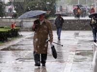 Lapovita si ninsoare: ultima zvacnire a iernii in Bucuresti. Cum va fi vremea pana duminica
