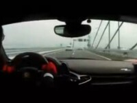 Un doctor din Japonia risca inchisoare dupa ce a facut aceasta inregistrare cu Ferrari-ul sau. VIDEO