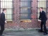 Probabil cea mai proasta idee pe care a avut-o cineva la o nunta. Tot internetul rade de ei. VIDEO