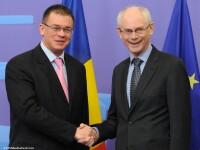 Ungureanu vrea o dezbatere a CE privind xenofobia si il invita pe Van Rompuy la Bucuresti