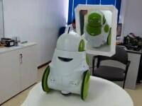 VIDEO. Un robotel se vede pentru prima data in oglinda. Iata reactia lui incredibila