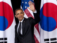 Incepe summitul de la Seul pentru siguranta nucleara. Obama avertizeaza Coreea de Nord si Iranul