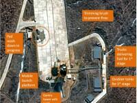 Coreea de Nord, pregatita sa lanseze o racheta in aprilie. Imaginile surprinse de un satelit