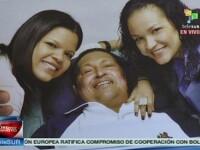 Ultima imagine cu Hugo Chavez in viata