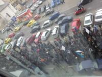 Suparati ca nu li s-au marit salariile de 5 ani, angajatii Metrorex au iesit in strada sa protesteze