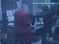 Arestari in cazul jafului de la o benzinarie din Cluj. Unul dintre atacatori a fost retinut