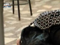 Video socant dintr-o cantina din Chisinau: Oamenii mananca fara probleme langa o femeie decedata