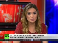 Inca o prezentatoare de la Russia Today a demisionat LIVE: